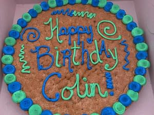 Asheville cookie cake